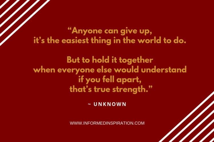 Don't give up _ Informed Inspiration